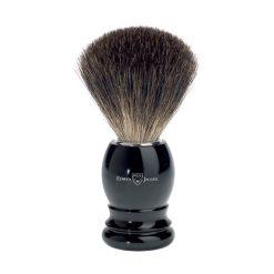 Edwin Jagger 81P26 Μαύρο Πινέλο Ξυρίσματος Ασβού Pure Badger.
