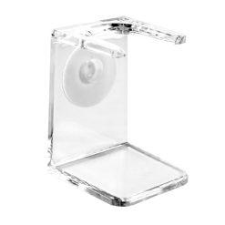 Edwin Jagger RH5 Βάση Διαφανές Πλαστική για Πινέλο Ξυρίσματος.