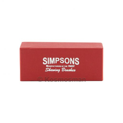Simpsons Κουτί για Πινέλο Ξυρίσματος Box 1