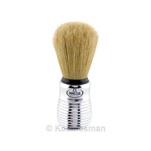 Omega 80080 Shaving Brush Pure Bristle.