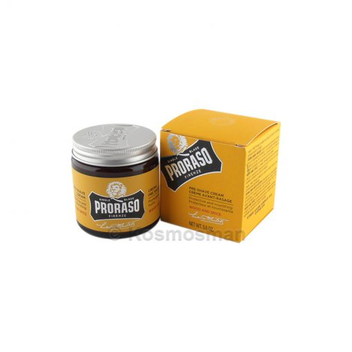 Proraso Wood & Spice Pre Shave Cream 100ml.