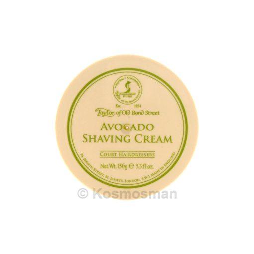 Taylor of Old Bond Street Shaving Cream Avocado 150g.