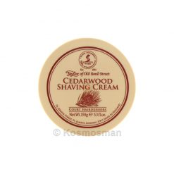 Taylor of Old Bond Street Shaving Cream Cedarwood 150g.
