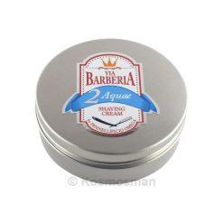 Via Barberia Omega Aquae Κρέμα Ξυρίσματος σε Μπολ 125ml.