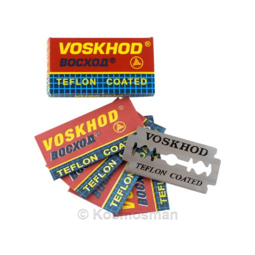 Voskhod Double Edged Razor Blades 5 Pack.