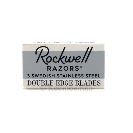 Rockwell Double Edged Razor Blades 5 pack.