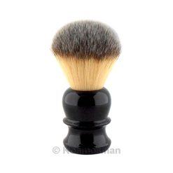 RazoRock Original Plissoft Synthetic Shaving Brush Black.