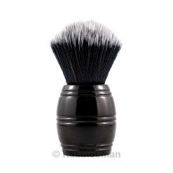 RazoRock Tuxedo Barrel Plissoft Πινέλο Ξυρίσματος Συνθετικό Μαύρο.