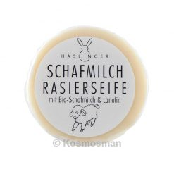 Haslinger Sheep's Milk Σαπούνι Ξυρίσματος Ανταλλακτικό 60g.