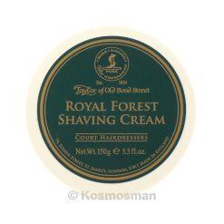Taylor Of Old Bond Street Royal Forest Κρέμα Ξυρίσματος 150g.