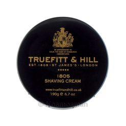 Truefitt and Hill 1805 Κρέμα Ξυρίσματος σε Μπολ 190g.