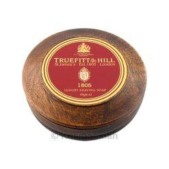 Truefitt and Hill 1805 Luxury Shaving Soap In Wooden Bowl 99g.