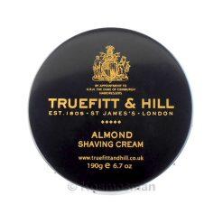 Truefitt and Hill Almond Shaving Cream In Bowl 190g.