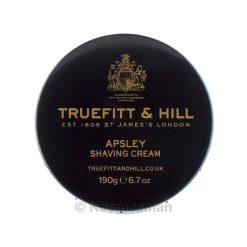 Truefitt and Hill Apsley Shaving Cream In Bowl 190g.