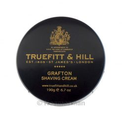 Truefitt and Hill Grafton Shaving Cream In Bowl 190g.