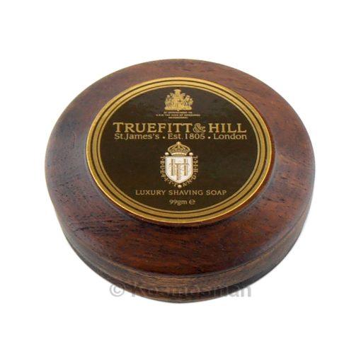 Truefitt and Hill Luxury Σαπούνι Ξυρίσματος σε Ξύλινο Μπολ 99g.