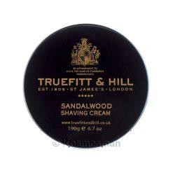 Truefitt and Hill Sandalwood Shaving Cream In Bowl 190g.