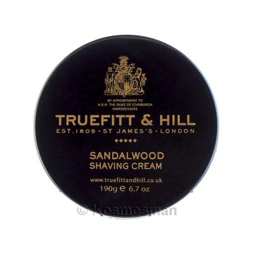 Truefitt and Hill Σανταλόξυλο Κρέμα Ξυρίσματος σε Μπολ 190g.