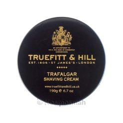Truefitt and Hill Trafalgar Shaving Cream In Bowl 190g.