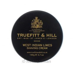 Truefitt and Hill West Indian Limes Shaving Cream In Bowl 190g.
