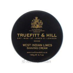Truefitt and Hill West Indian Limes Κρέμα Ξυρίσματος σε Μπολ 190g.