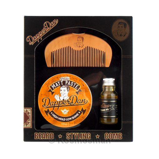 Dapper Dan Σετ Περιποίησης Γενειάδας & Μαλλιών 3τμχ.