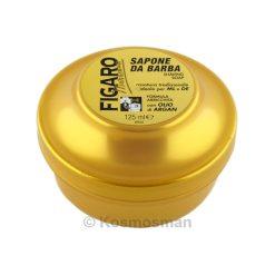 Figaro Gold Σαπούνι Ξυρίσματος σε Μπολ 125ml.