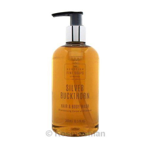 The Scottish Fine Soap Silver Buckthorn Σαμπουάν Μαλλιών/Σώματος 300ml.