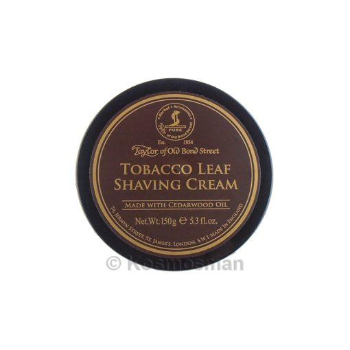Taylor of Old Bond Street Tobacco Leaf Κρέμα Ξυρίσματος 150g.