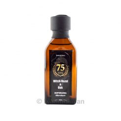 TFS 75th Witch Hazel and Oak After Shave Lotion 100ml.