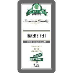 Stirling Soap Co. Baker Street Μετά το Ξύρισμα Βάλσαμο 118ml.