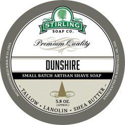Stirling Soap Co. Dunshire Σαπούνι Ξυρίσματος σε Μπολ 170ml.