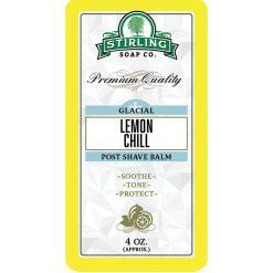 Stirling Soap Co. Glacial Lemon Chill Μετά το Ξύρισμα Βάλσαμο 118ml.