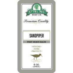 Stirling Soap Co. Sandpiper Μετά το Ξύρισμα Βάλσαμο 118ml.