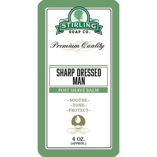 Stirling Soap Co. Sharp Dressed Man Μετά το Ξύρισμα Βάλσαμο 118ml.