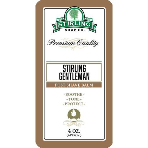 Stirling Soap Co. Stirling Gentleman Μετά το Ξύρισμα Βάλσαμο 118ml.