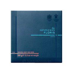 Floris London Elite Σαπούνι Ξυρίσματος σε Ξύλινο Μπολ 100g.