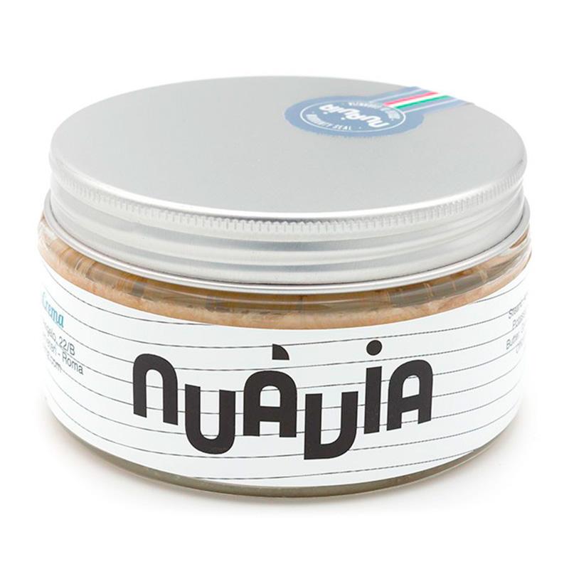 Pannacrema Nuàvia Nera Shaving Soap in Bowl 160ml.