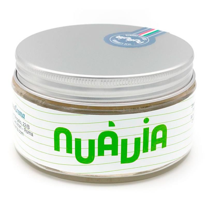 Pannacrema Nuàvia Verde Shaving Soap in Bowl 160ml.