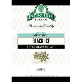 Stirling Soap Co. Black Ice Μετά το Ξύρισμα Λοσιόν 100ml.