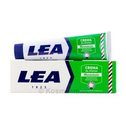Lea Menthol Shaving Cream Tube 150g.