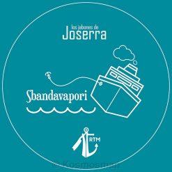 Los Jabones De Joserra Sbandavapori Artisan Σαπούνι Ξυρίσματος σε Μπολ 125g.