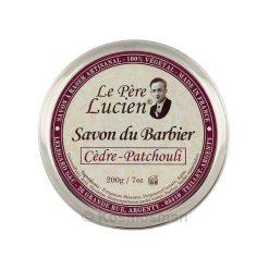 Le Père Lucien Cedar - Patchouli Σαπούνι Ξυρίσματος σε Μπολ 200g.