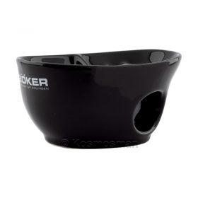 Boker 04BO183 Μαύρο Διπλό Μπολ Ξυρίσματος Πορσελάνης.