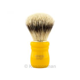 ZENITH 505B/ORO SB Silvertip Πινέλο Ξυρίσματος Ασβού με Butterscotch Λαβή.