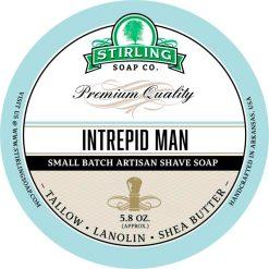 Stirling Soap Co. Intrepid Man Σαπούνι Ξυρίσματος σε Μπολ 170ml.