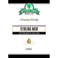 Stirling Soap Co. Stirling Noir After Shave Lotion 100ml.