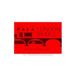 Gillette London Bridge Stainless Steel Double Edge Blade 5pcs.