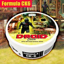 Phoenix Artisan A. Droid Black Ck-6 Formula Shaving Soap in Bowl 140g.